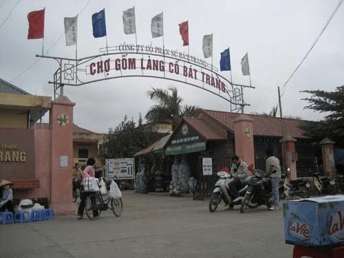 giới thiệu về làng gốm Bát Tràng