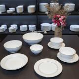 Mua bát đĩa sứ trắng cho nhà hàng ở đâu giá tốt nhất