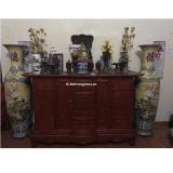 Cách bài trí sắp xếp bàn thờ gia tiên theo đúng phong thủy