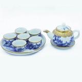 Mua bộ ấm chén uống trà Bát Tràng đẹp ở đâu chất lượng tốt