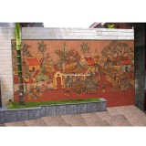 Mua tranh gốm sứ ốp tường ghép mảnh Bát Tràng ở đâu giá rẻ