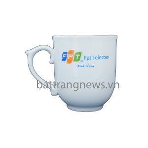 Ca cốc in logo FPT Telecom
